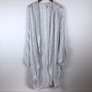 Free people striped duster